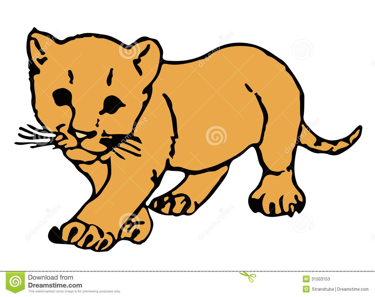 1300x1029 Lion Cub Cartoon Clipart