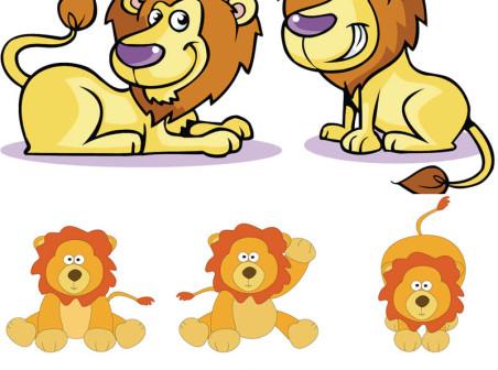 452x336 Lion Cub Clip Art