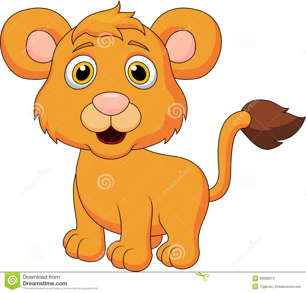1300x1244 Baby Lion Reading Clipart
