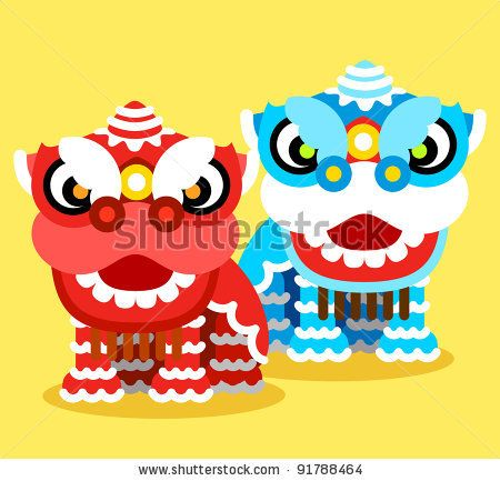 450x433 Chinese New Year Celebration And Lion Dance By Ziven, Via
