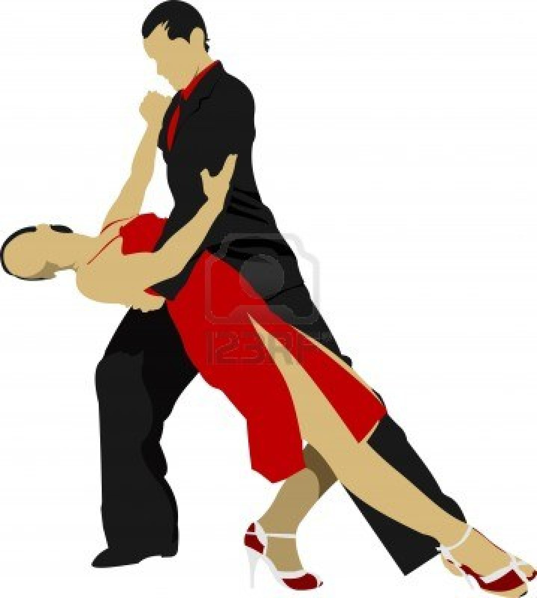 1077x1200 Clip Art For Latin Dancers Clipart