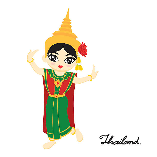 612x612 Collection Of Thai Dance Clipart High Quality, Free Cliparts