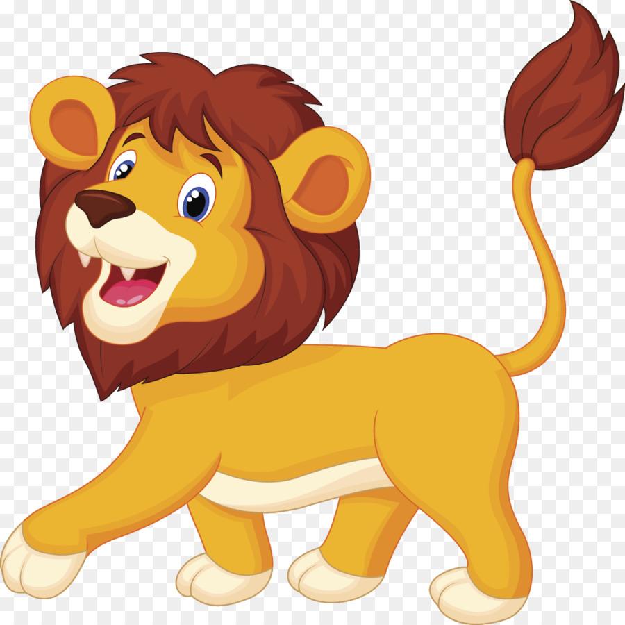 900x900 Lion Cartoon Animation Clip Art