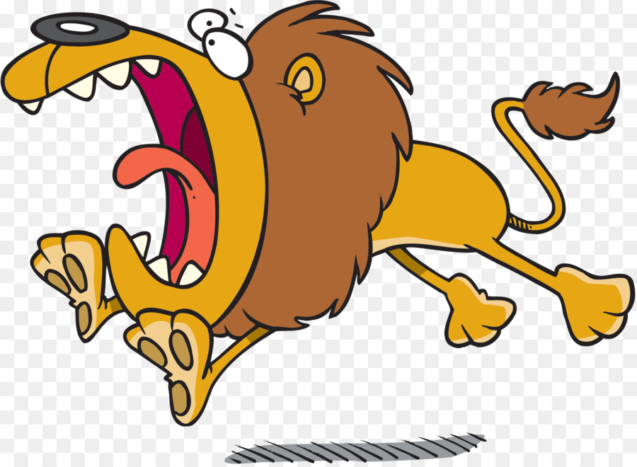 900x660 Lion Cartoon Royalty Free Clip Art