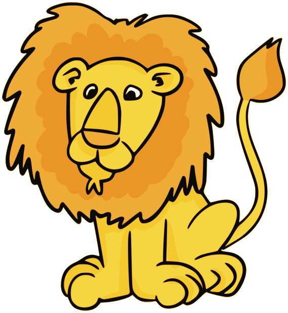 569x617 Lion Clipart Kids Amp Lion Clip Art Kids Images