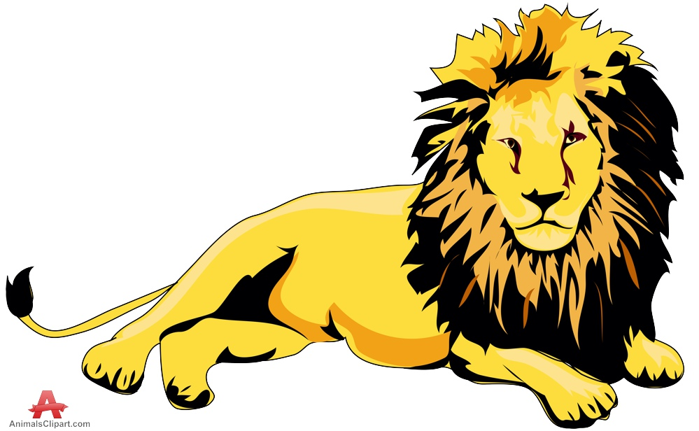999x616 Lion Laying Down Clipart Amp Lion Laying Down Clip Art Images