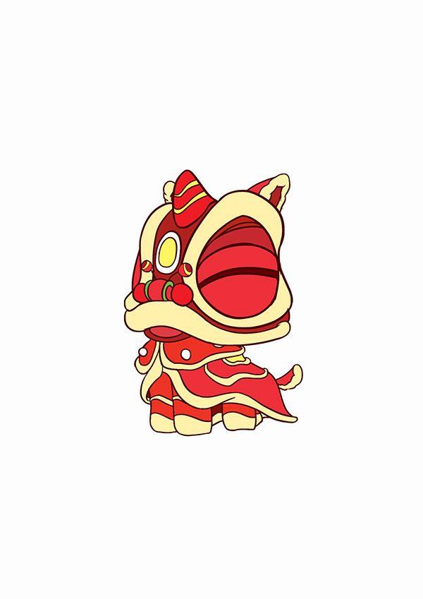 600x849 Little Cute Lion Dance~~~~~~ On Behance Places To Visit