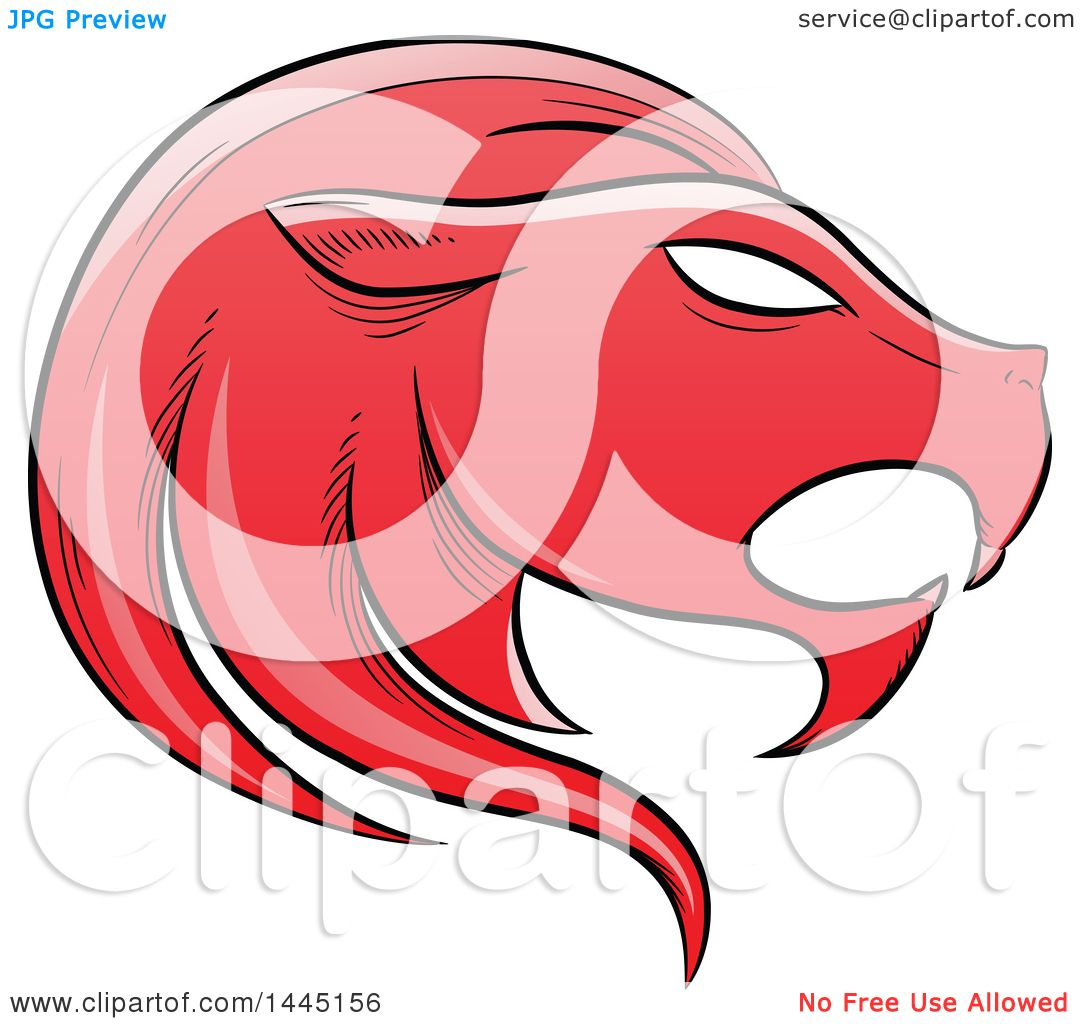 1080x1024 Clipart Of A Sketched Red Astrology Zodiac Leo Lion Head