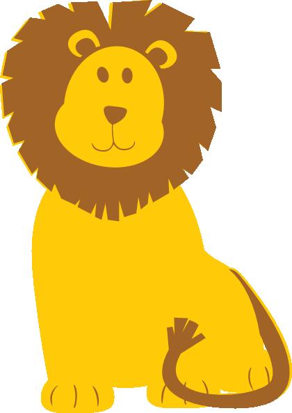 420x594 Lion Clip Art