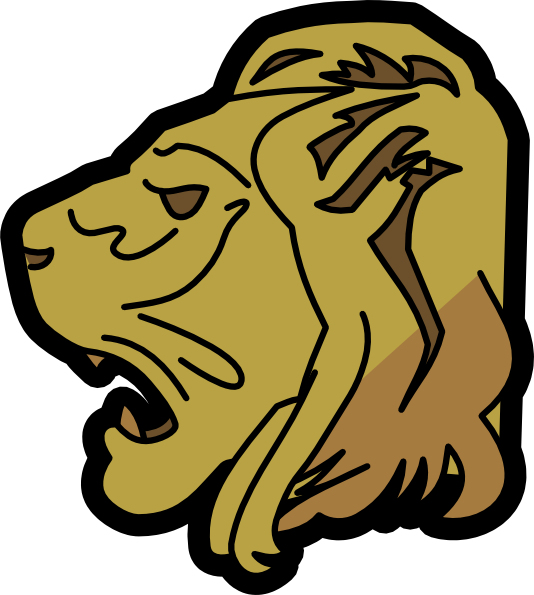 534x595 Lion Head Clipart Craft Projects, Animals Clipart