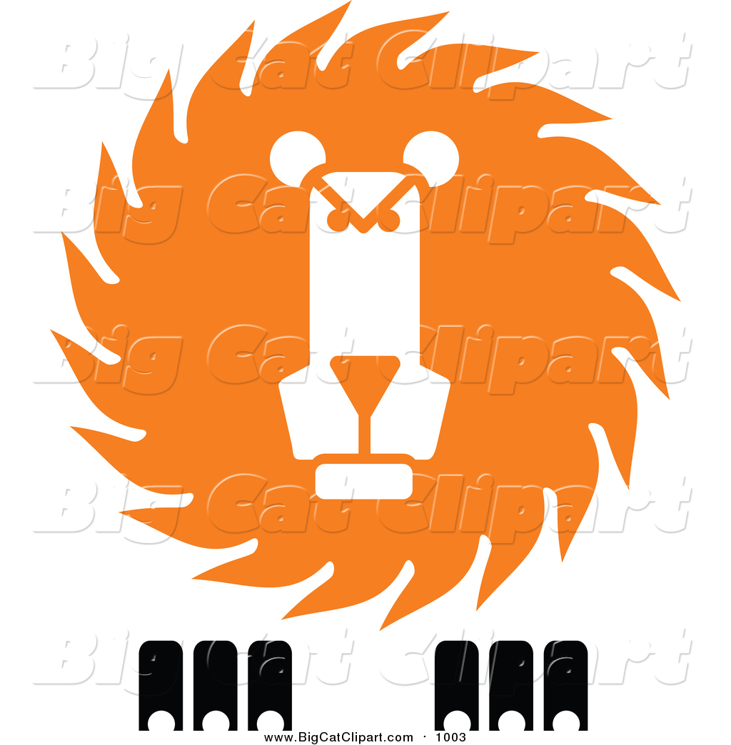 1024x1044 Vector Clipart Of A Lion Face By Vector Tradition Sm