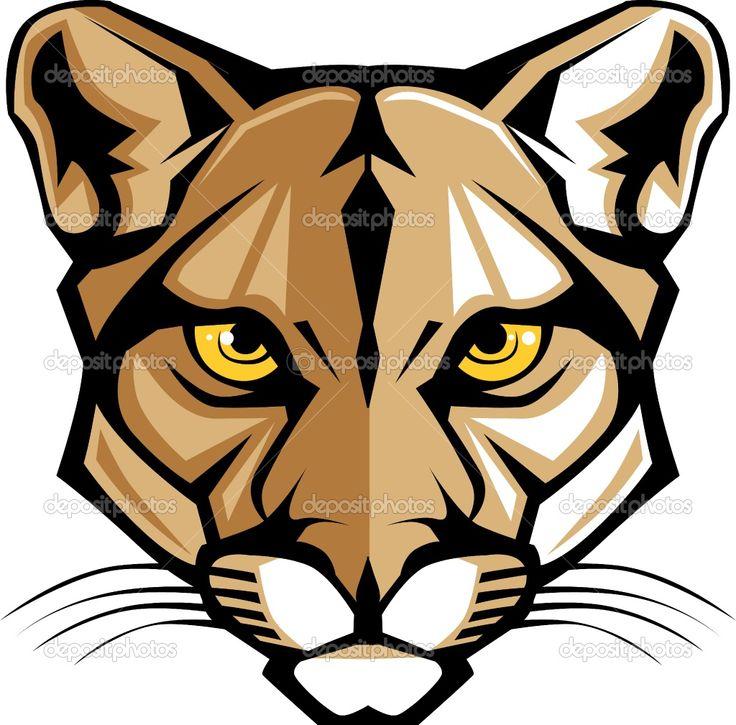736x725 Cougar Head Clipart Cougar Clipart 7