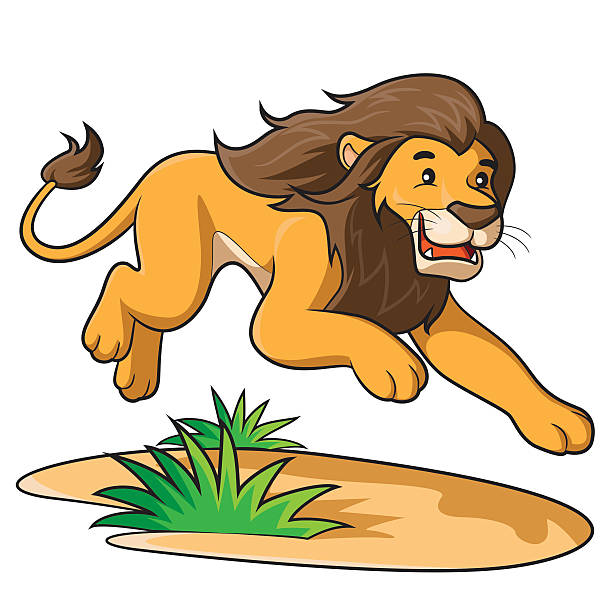 612x612 Collection Of Leaping Lion Clipart High Quality, Free