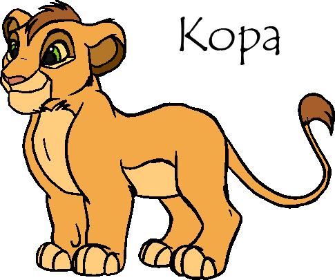 485x405 Kopa Clip Art Annie's Album Fan Art Albums Of My Lion King