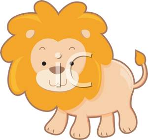 300x285 Cartoon Lion And Lamb Clipart
