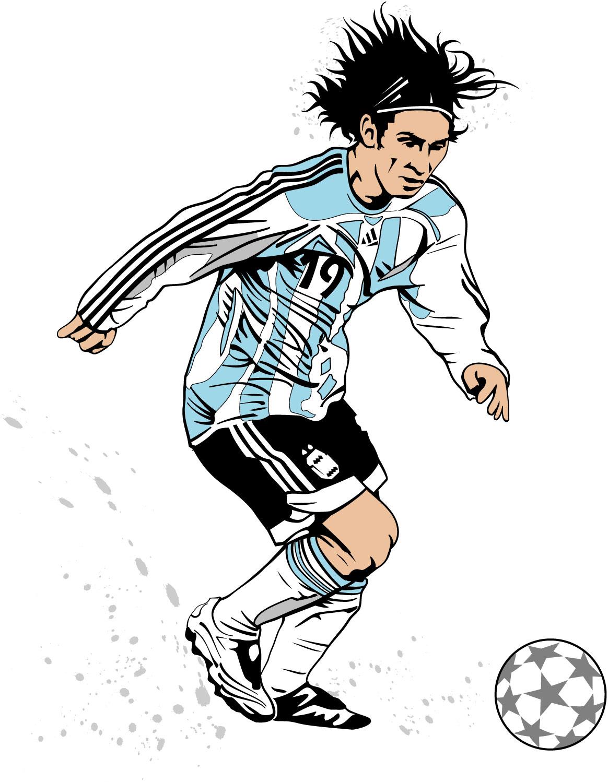Lionel Messi Clipart