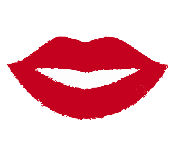 600x507 Gallery Red Lips Clip Art,