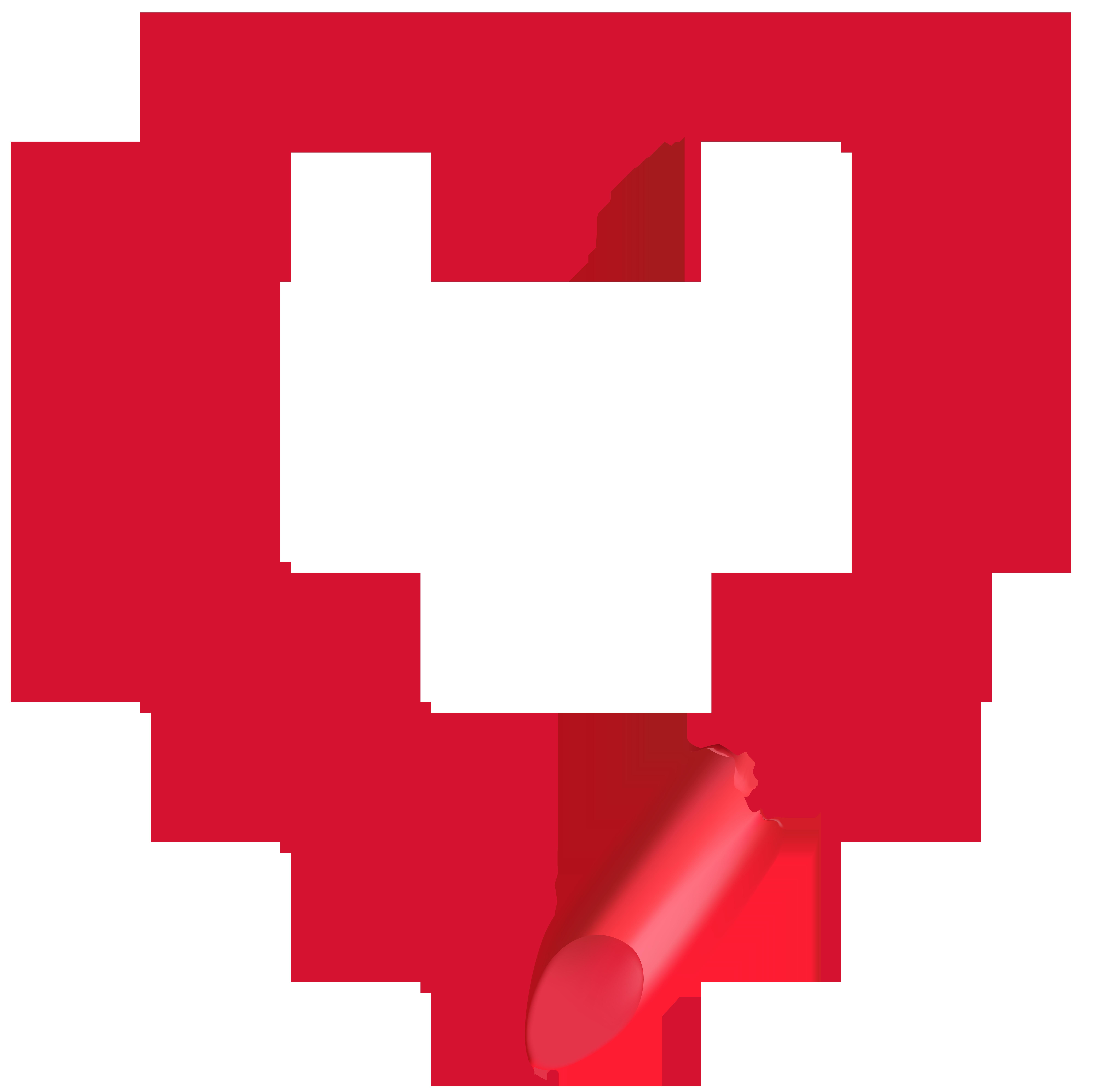 8000x7983 Lipstick Heart Transparent Clip Art Imageu200b Gallery Yopriceville