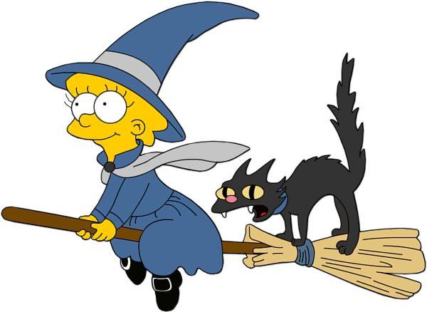 600x438 Halloween Lisa Simpson Witch Clip Art Clip Art