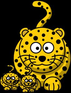 228x299 Leopard Baby Clip Art