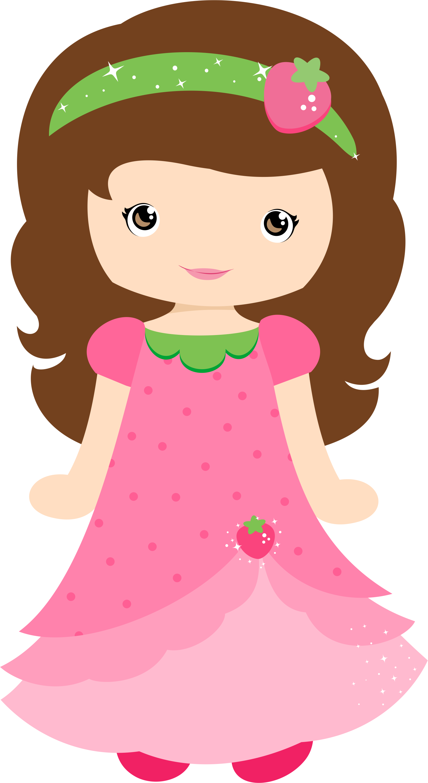 1641x3001 Lisa Com O Vestido E A Tiara Da Moranguinho .as Duas
