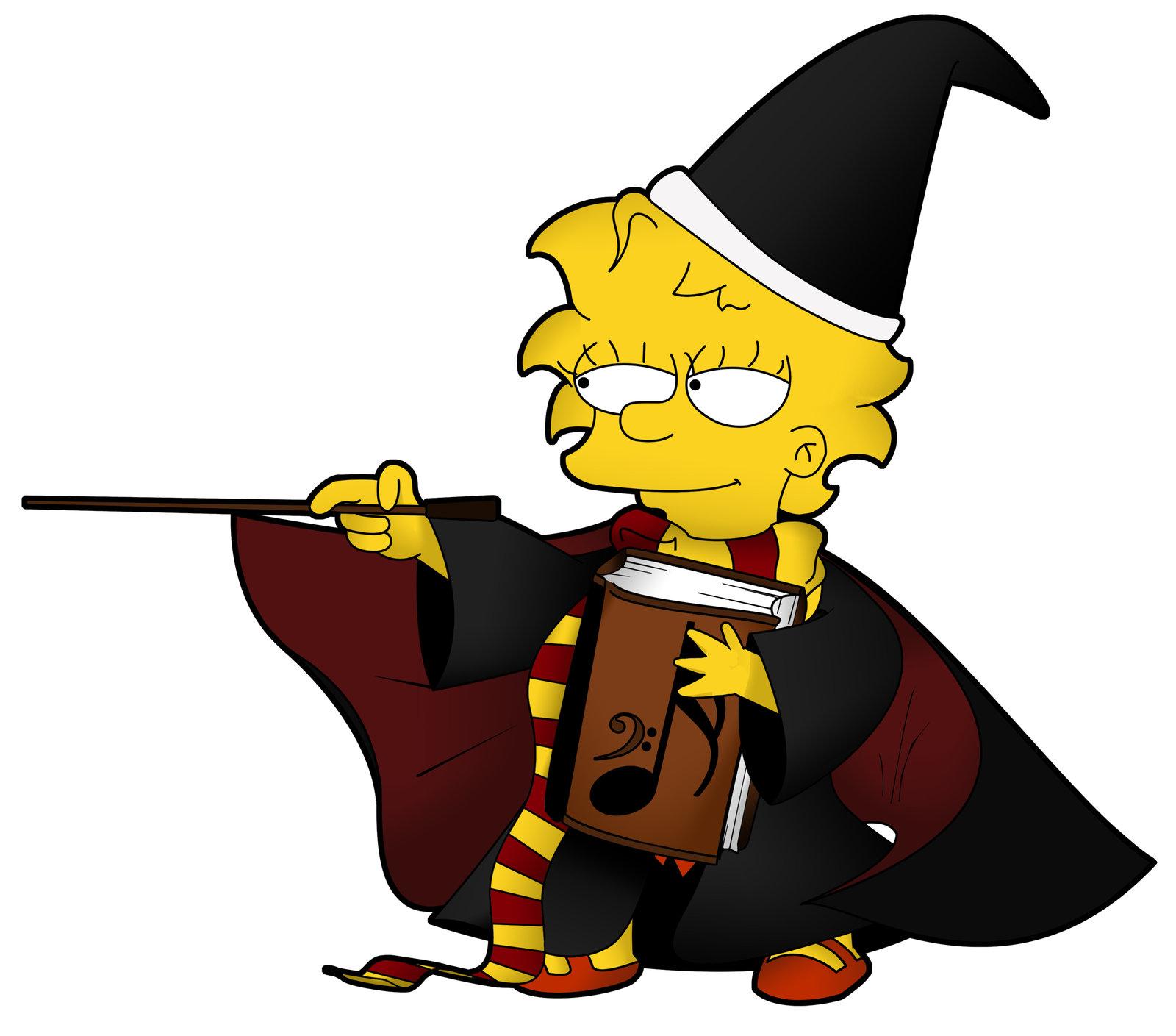 1600x1409 Halloween, Lisa Simpson Clip Art