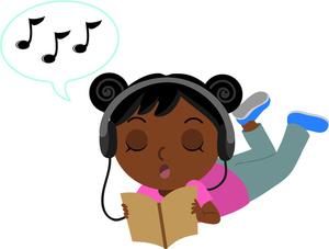 300x227 Listen To Reading Clip Art