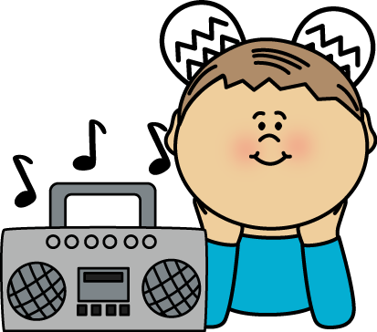 413x364 Boy Listening Clipart Illustration Of A Little With His Hand Eps