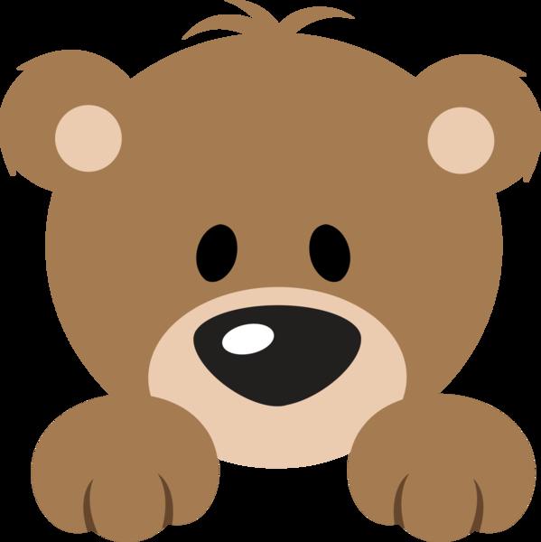 599x600 Cute Bear Cartoon Group