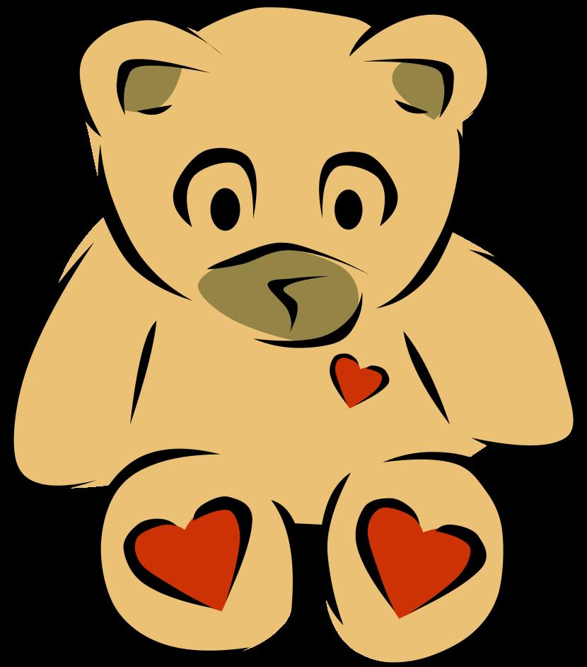 830x942 Teddy Bear Clipart