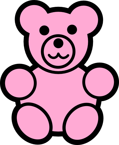 486x593 Bear Clip Art