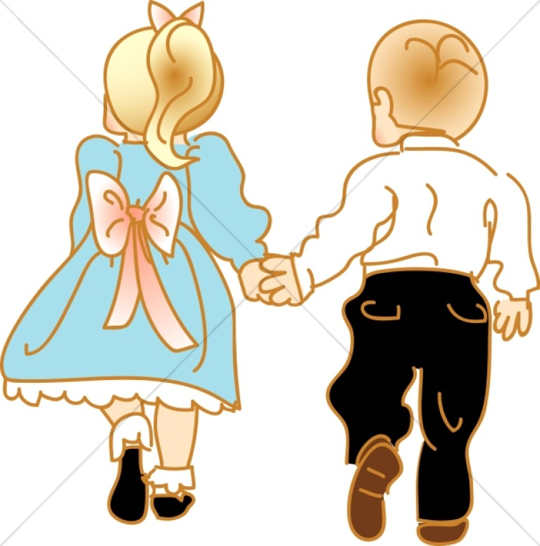 767x776 Clipart Little Girl And Boy Kids Clip Art Vector Search Drawings