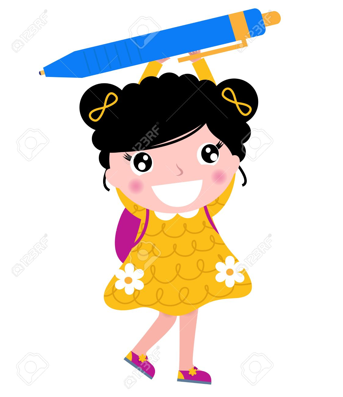 1124x1300 Little Girl Clipart School