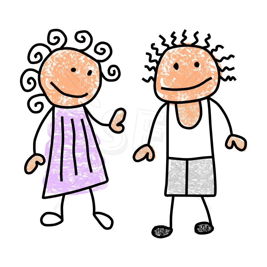 900x900 Little Boy And Girl Clipart People Clipart Boy 5
