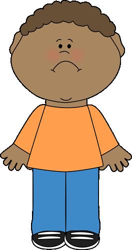 264x500 Sad Little Boy Clip Art