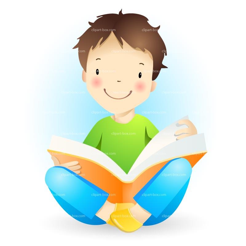 800x800 Child Reading Clipart Boy Child Reading Clip Art Clipart Panda