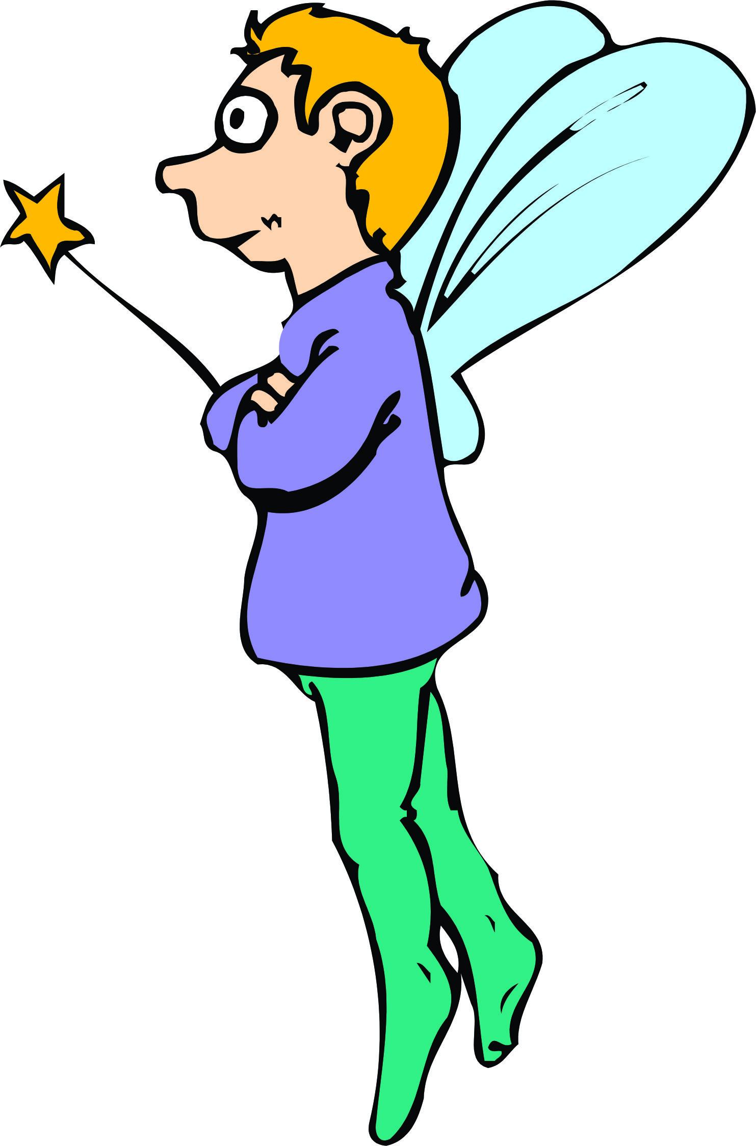1483x2248 Boy Fairy Clipart