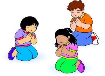 369x268 Clip Art Of A Boy Praying