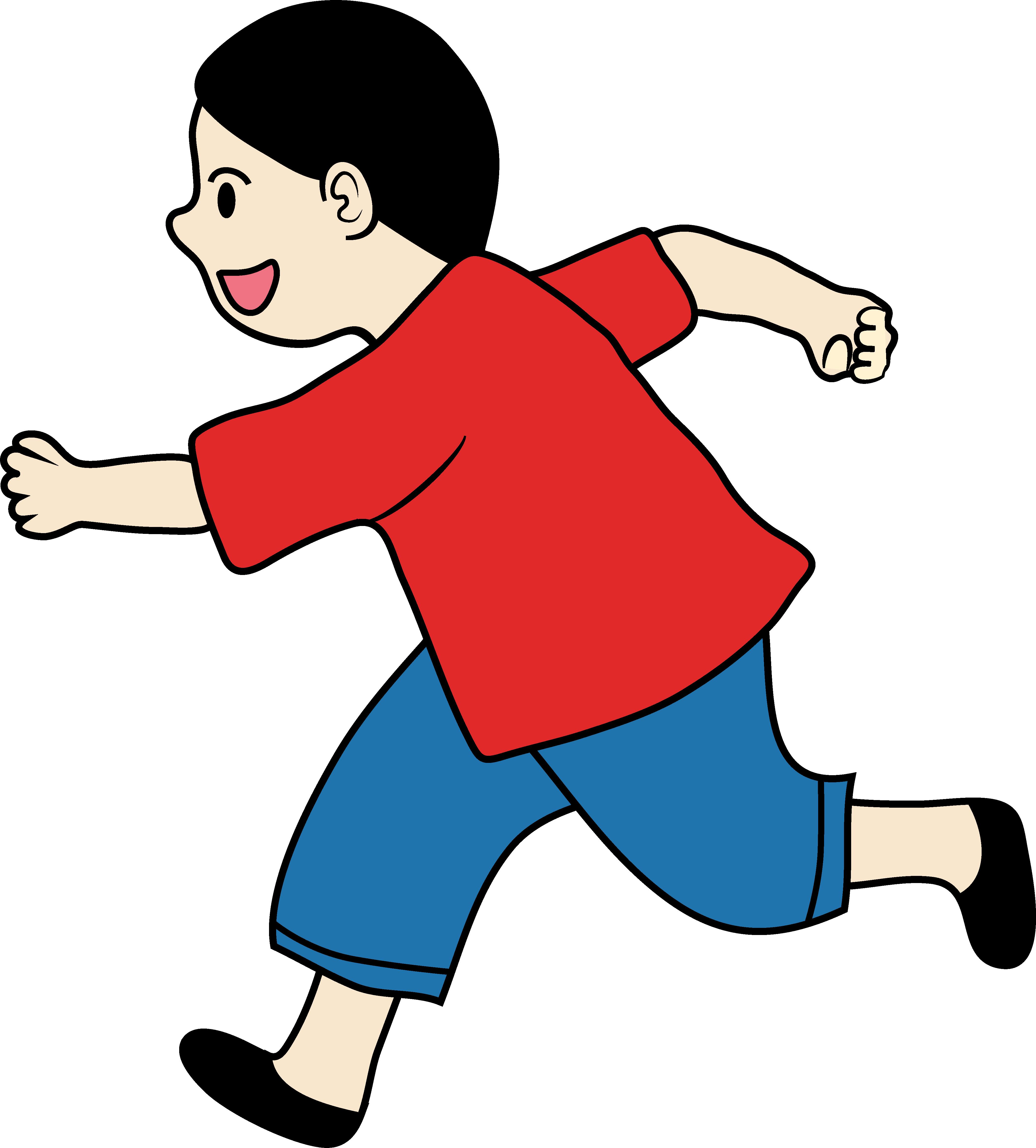 4209x4662 Kid Clipart Of A Little Boy Running Free Clip Art