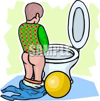 346x350 Cartoon Of A Little Boy Peeing