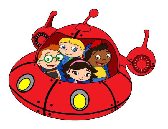 570x440 Little Einsteins Group In Rocket Svg Pdf Png. Dxf Files
