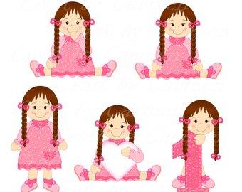 340x270 Doll Clip Art Princesslittle Girl Dancer Ballerinadigital