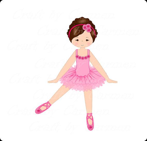 570x550 Ballerina Clip Art Dancer Ballet Digital Art Scrapbook