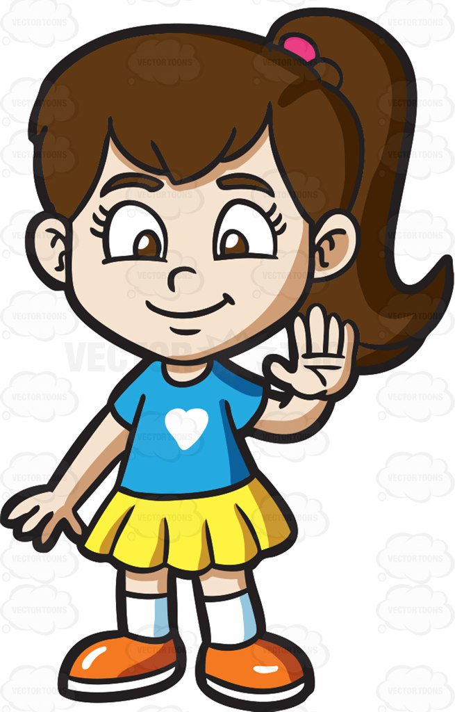 Little Girl Clipart at GetDrawings | Free download