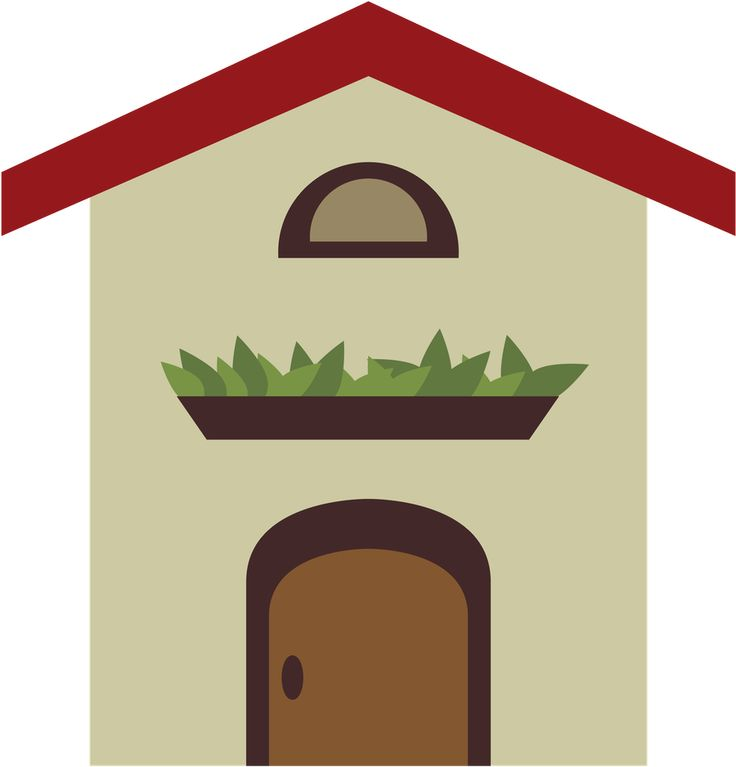 Little House Clipart