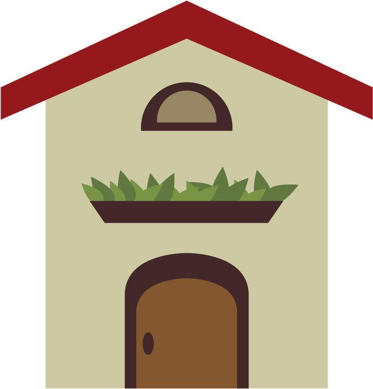 Little House Clipart