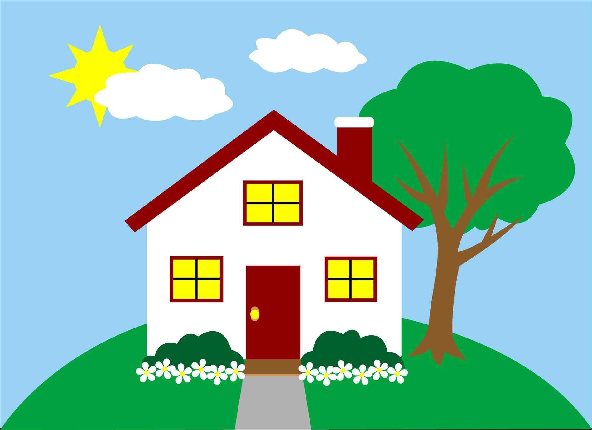 1899x1381 Cute Little House Clipart Ohomey