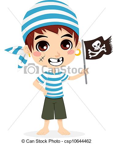 368x470 Little Pirate Kid. Little Kid In Pirate Sailor Costume Clip Art