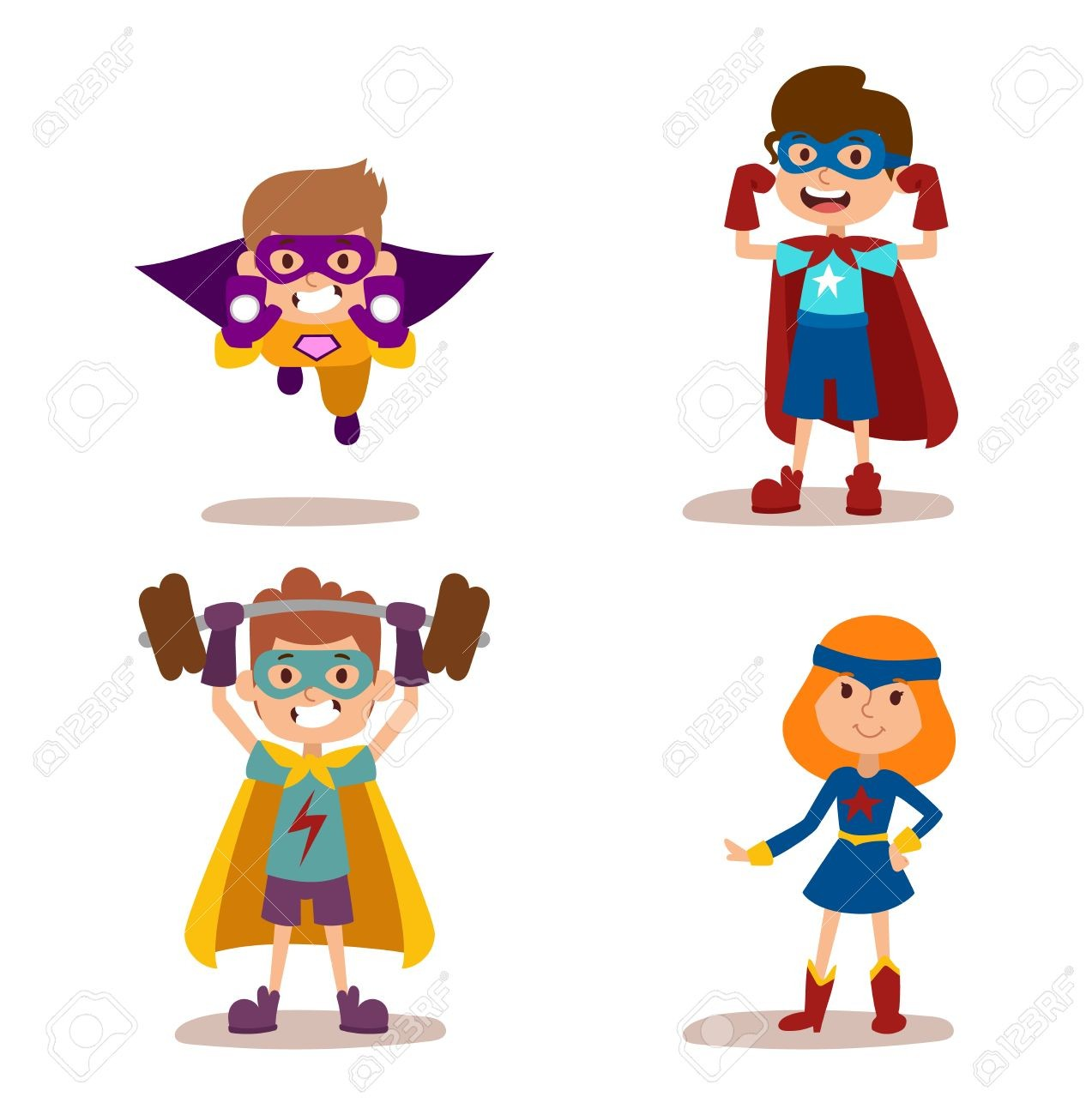 1273x1300 Boy Superhero Clip Art Little Boys Superheroes Superboys Digital
