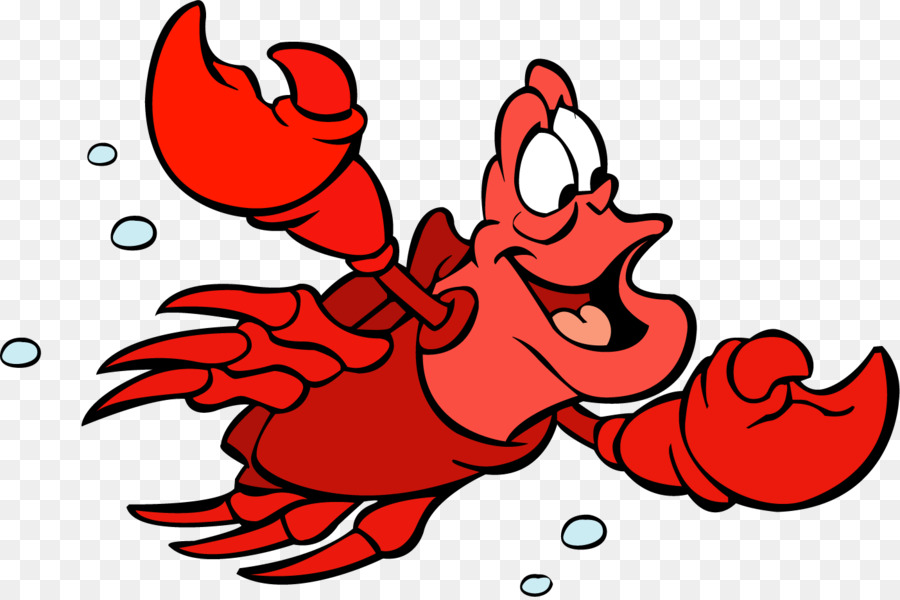 little mermaid sebastian clipart at getdrawings com free for